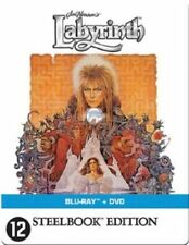 LABYRINTH Blu ray Steelbook - 2 Disc set ( DAVID BOWIE ) ( NEW ) English Audio
