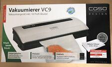 CASO VC 9 Vakuumierer Vakuumiersystem Schweißgerät Sous vide, gebraucht wie neu