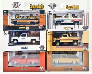 M2 Machines 2021 Squarebody Syndicate Complete 2nd Release Set of 6 w Sleeve