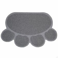 Cat Litter Mat Catcher Smart grip Paw Shaped Innovative Grass Like Material