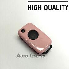 Mercedes Benz caso cubierta rosa Clave Remoto Fob 1 Botón Tapa Casco Bolsa Shell 71pin