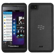 For BlackBerry Z10 TPU Gel GUMMY Hard Skin Case Phone Cover + Screen Guard