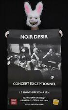 NOIR DESIR - Affiche originale concert exceptionnel Paris 1996 - Poster 119x79