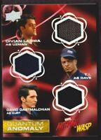 2018 Upper Deck Marvel Ant-Man and the Wasp Quantum Anomaly Triple Relics #QMT8