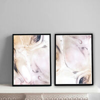 Home Prints A4,Pink Marble Pattern,Gift, Wall Art-NO FRAME