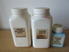 Potterycrafts P4254 Covercoat P4259 Thinners & P4253 Silk Screen Medium