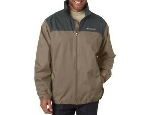 COLUMBIA Men's GLENNAKER LAKE Shell Jacket - Tusk/ Grill - Small - NWT  LAST ONE