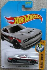 Hot Wheels 2017 48 of 365 '15 Dodge Challenger Hotwheels Muscle Mania - Carded