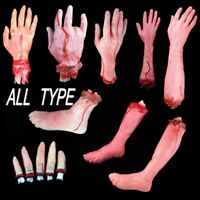 Halloween Horror  Lifesize Bloody Hand Haunted House Party Scary Decoration /LZ