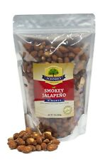 1 lb Smokey Jalapeno Roasted Smoked Almonds Farm Fresh in Resealable Bag