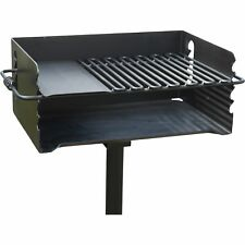 Jumbo Park Charcoal Grill - 384 Sq. In. of Cooking Space