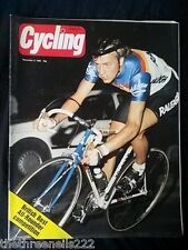 CYCLING - BRITISH BEST ALL ROUNDER COMPETITION - DEC 5 1985