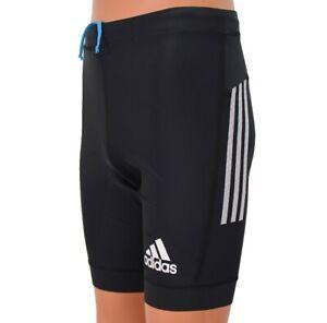 Adidas Adizero Shorts Tight Men's Pro Running Training Pants Black