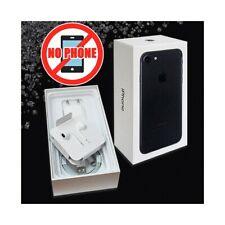 Accessories Original For IPHONE 7 Matt Black Complete By Box Box No Phone