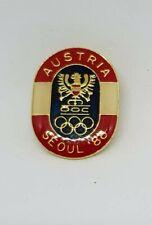 Austria   OLYMPICS TEAM Seoul 1988 Olympia Olympic Games NOC PIN BADGE