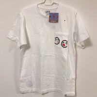 UNIQLO SUPER MARIO Boo Teresa Nintendo UT MEN'S Graphic T-Shirt Tops White L-XL