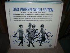 DAS WAREN NOCH ZEITEN, Songs Of The Good Old Days, Polka Music, Fiesta # 1355