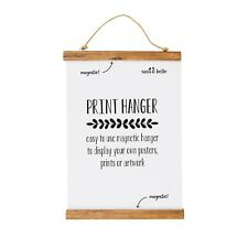 Sass And Belle Magnetic Poster/Picture Hanger Rustic