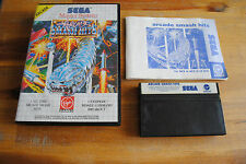 Jeu ARCADE SMASH HITS pour Sega MASTER SYSTEM (Complet)