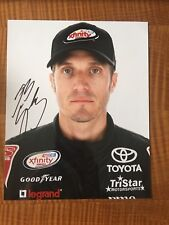 JJ Yeley Signed 8x10 Daytona Profile Photo NASCAR autograph COA