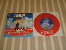 "ABBA: Slipping Through.., COCA-COLA, PD-105, ORG JAPAN, 7""/ PICTURE DISC, MINT"