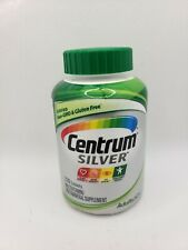 Centrum Men Multivitamin Mulitmineral Supplement Adult 220 Tablets NEW Exp 6/20