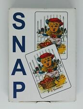 Snap Pictorial Card Game Late Victorian Reproduction
