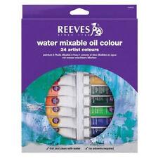 Reeves Agua mezclables Aceite De Colores - 24 X 10 Ml Tubo Set