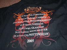 BNWOT BULLET FOR MY VALENTINE THE POISON T SHIRT AGE 7-8 128CM 2005 TOUR