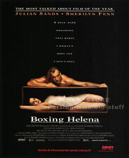 BOXING HELENA__Original 1994 Print AD movie promo__SHERILYN FENN__JULIAN SANDS