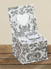 Schmuckbox Schmuck - Schatulle mit Herzspiegel - Schmuckkästchen