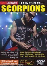 Lick Library Learn To Play Scorpions Blackout Vientos De Cambio De Metal Guitarra Dvd