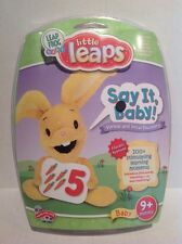 Leap Frog Little Leaps Say it Baby Verbal and Vocal Discovery 9 Months