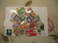 PAYS BAS  : 80 TIMBRES TOUS DIFFERENTS