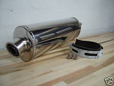 RVF400 NC35 GULL ARM   STAINLESS ROAD LEGAL CAN EXHAUST