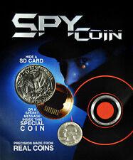 Hollow Spy Coin - Real US Quarter hides a Micro SD Card!