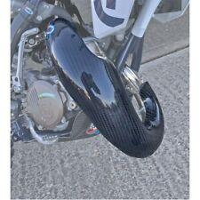 KTM SX85 18-19 HUSQVARNA TC85 18-19 PRO CARBON SKID EXHAUST GUARD