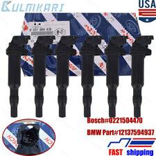 6×  BOSCH FOR E46 E60 E85 E90 IGNITION COIL SET 12137594937 / 0221504470