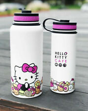 NIB Hello Kitty Cafe Exclusive Pink Stainless Thermal Bottle 32oz ONLY Rare