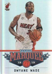 2012-13 Panini Marquee Basketball #23 Dwyane Wade Miami Heat