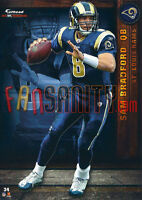 34 Sam Bradford St Louis Rams Eagles Vikings Fathead Tradeable 2012 NFL
