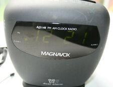 AJ3144/17  Am Fm Philips Magnavox Dual Alarm Clock Radio