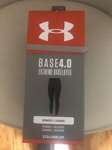 Women's under armour base 4.0 Extreme Base layer Leggings