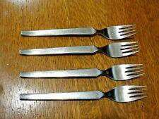 "Set of 4 Vintage JA HENCKELS 18/8 Stainless DINNER FORKS ~ Germany ~ 7½"" Long"