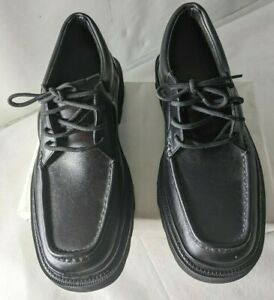New Men's Elevator Shoes Leather Casual Invisible Height Increasing Shoes Sz:6.5