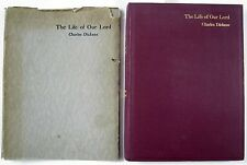 1934 CHARLES DICKENS – THE LIFE OF OUR LORD – VGC – ILLUSTRATED