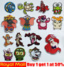 Porpular Cartoon Patches Iron On / Sew On Patch Badge