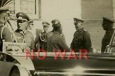 Authentic photo WWII German Generalfeldmarschall Werner von Blomberg & marshals*
