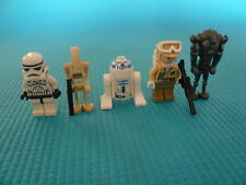 5 minifigurines LEGO star wars - lot n°16 - TBE