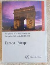 ORIGINAL MERCEDES CLS E 2010 2012 AUDIO 50 NAVIGATION DISC DVD SAT NAV MAP 2011